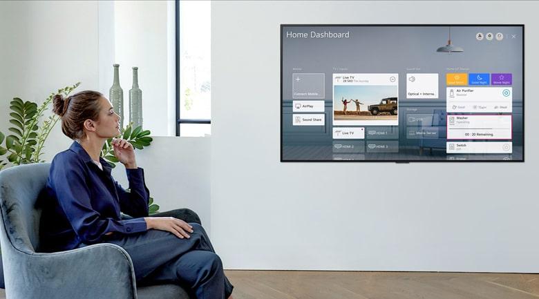65UP7550PTC tạo hệ sinh thái với các thiết bị LG trong nhà