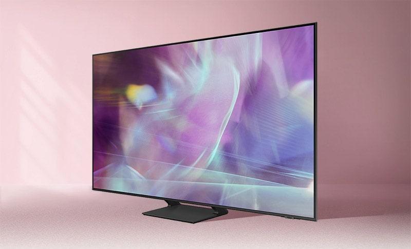 tivi samsung QA43Q60A có thiết kế hiện đại, sang trọng