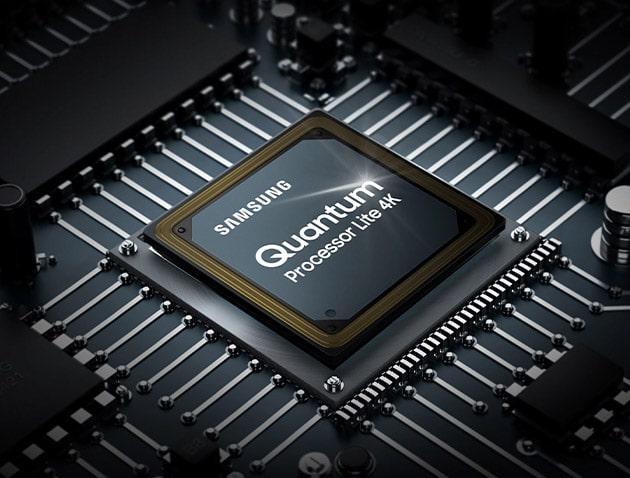 vi xử lý Quantum Processor Lite 4K cho tốc độ xử lý cực nhanh