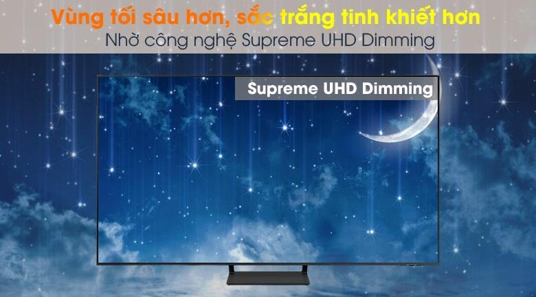 Tivi Samsung QA 50Q65A với công nghệ Supreme UHD Dimming tăng cường độ tương phản và độ nét cao