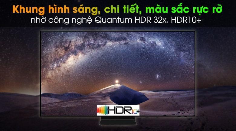 Quantum HDR 32xvàHDR10+