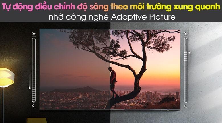 Tivi Samsung QA75QN85A với công nghệ Adaptive Picture giúp tự động điều chỉnh độ sáng phù hợp