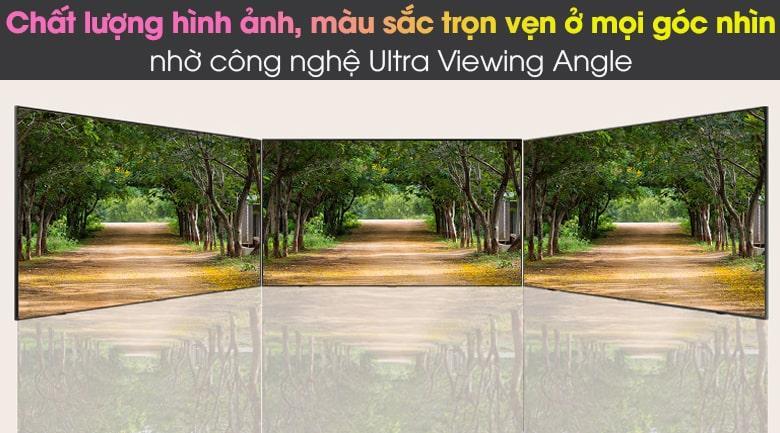 Công nghệ Ultra Viewing Angle trên chiếcTivi Samsung QA 75QN85A giúp bạn xem rõ chi tiết, trọn vẹn ở mọi góc nhìn