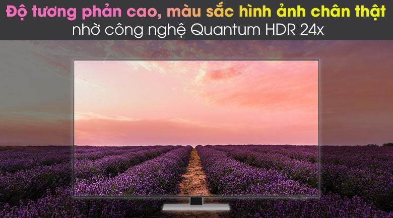 Tivi Qled QA 75QN85A cho màu sắc hình ảnh thật như ở bên ngoài với công nghệ Quantum HDR 24x