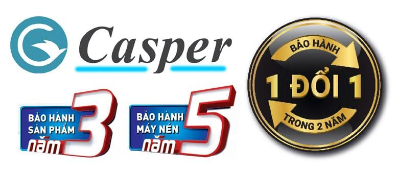 Điều hòa Casper EH-12TL22 chế độ bảo hành vượt trội
