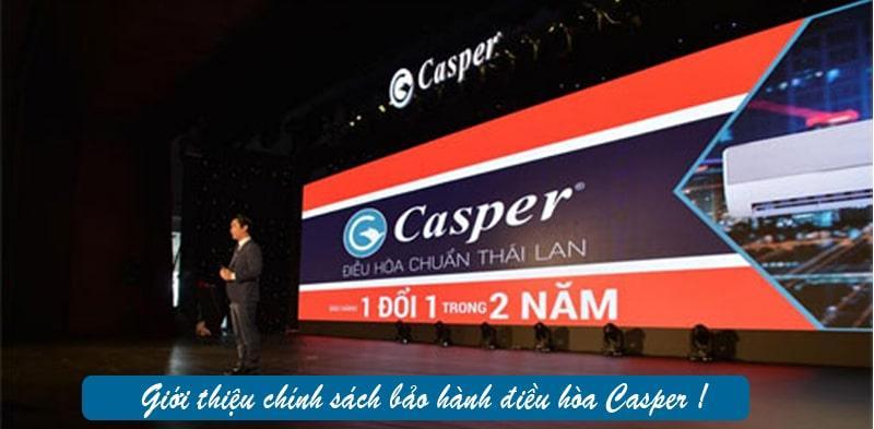 Điều hòa Casper EH-09TL22 giới thiệu chính sách bảo hành điều hòa