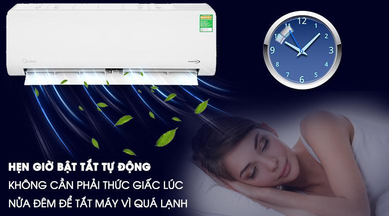 Mang đến chức năng hẹn giờ tiện ích mỗi khi sử dụng vào ban đêm