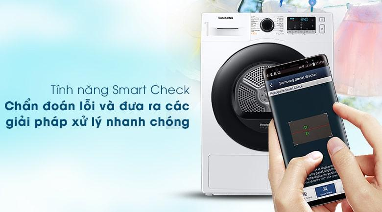 tính năng Smart Check chuẩn đoán lỗi và đưa ra các giải pháp xử lý nhanh chóng
