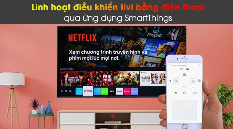 85Q60A điều khiển tivi bằng điện thoại dễ dàng