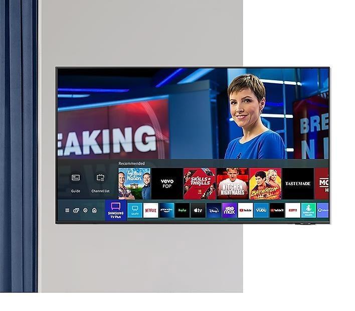 Tivi samsung 75Q60A xem truyền hình miễn phí
