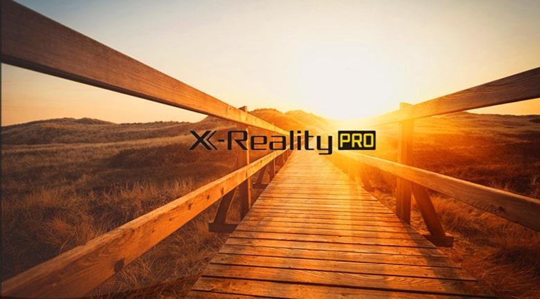 55X80J trang bị công nghệ X-reality pro