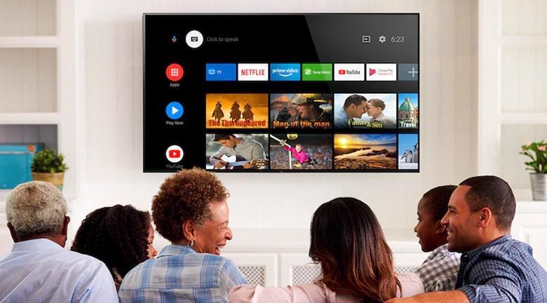 Tivi sony 43X80J hệ điều hành Android dễ dàng sử dụng