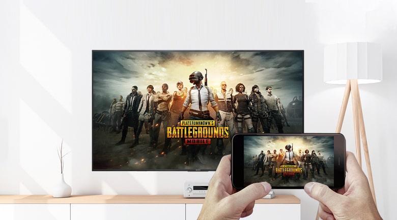 XR-50X90J truyền video và game
