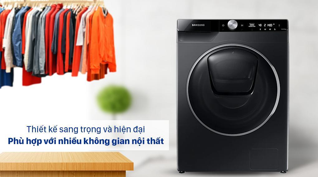 Là một mẫu máy giặt sang trọng hiện đại có thể phù hợp với nhiều thiết kế nội thất