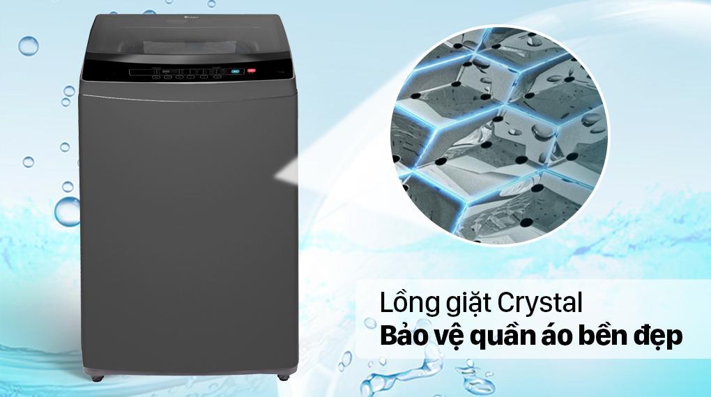 Xét về bên trong lồng giặt Máy giặt Casper WT-85N68BGA có thiết kế gì độc đáo không ?