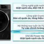Đánh giá Máy giặt Casper WF-95I140BGB Inverter 9.5 kg