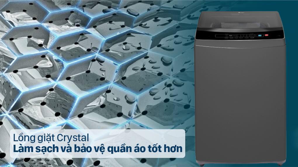 Review lồng giặt của máy giặt Casper WT-95I68DGA có khả năng bảo vệ quần áo cực tốt