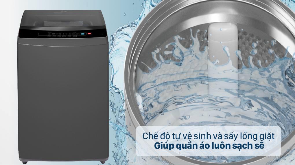Đánh giá tiện ích của máy giặt Casper WT-95N68BGA có thực sự tiện lợi không ?