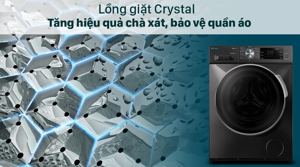 Đánh giá thiết kế loại lồng giặt kiểu mới từ máy giặt casper này