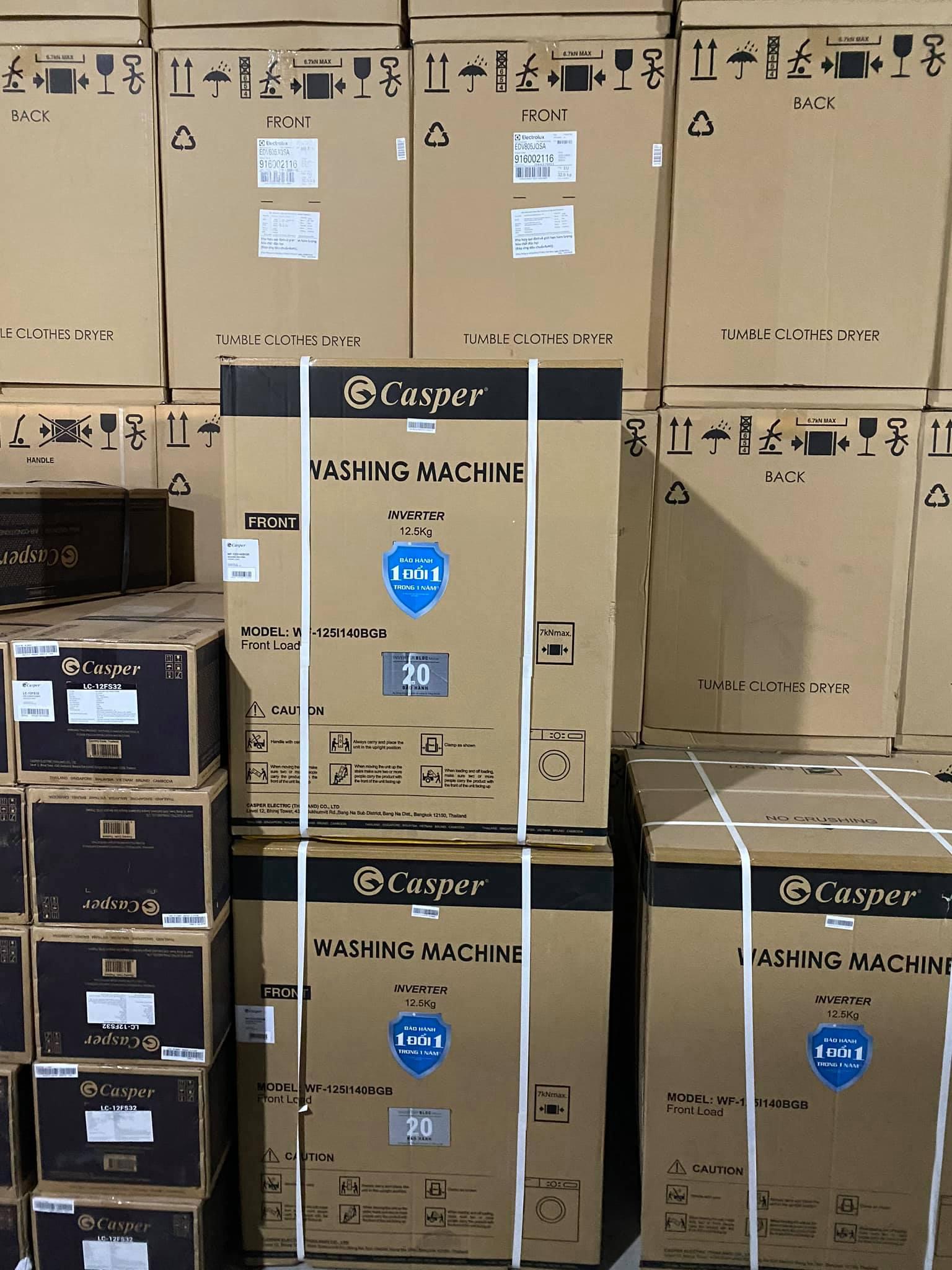 Kho máy giặt casper