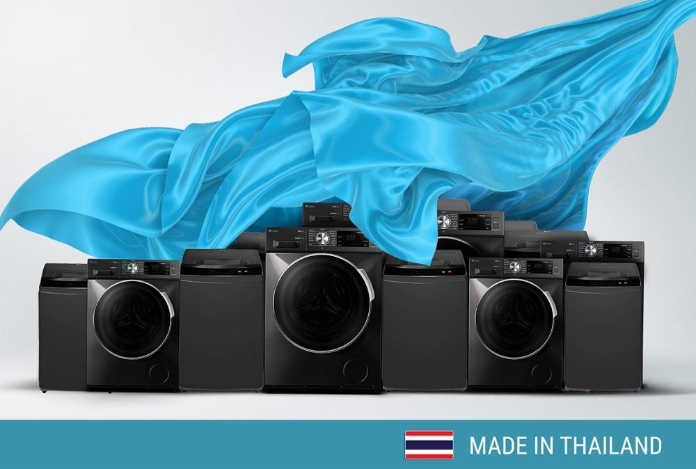 Máy giặt Casper được sản xuất tại Thái Lan