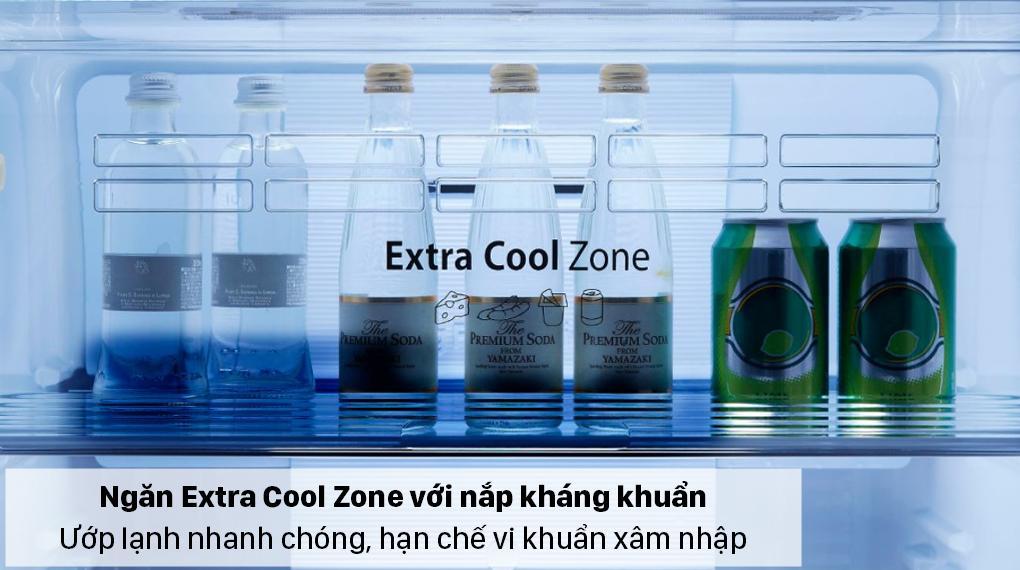 Tủ lạnh Panasonic NR-TL351GPKV có ngăn Extra Cool Zone ướp lạnh đồ uống siêu nhanh
