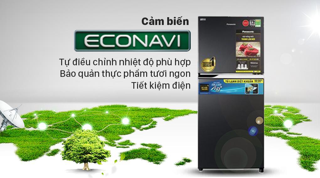 Với cảm biến thông minh Econavi khi sử dụng bạn sẽ thấy tiết kiệm tối đa điện năng