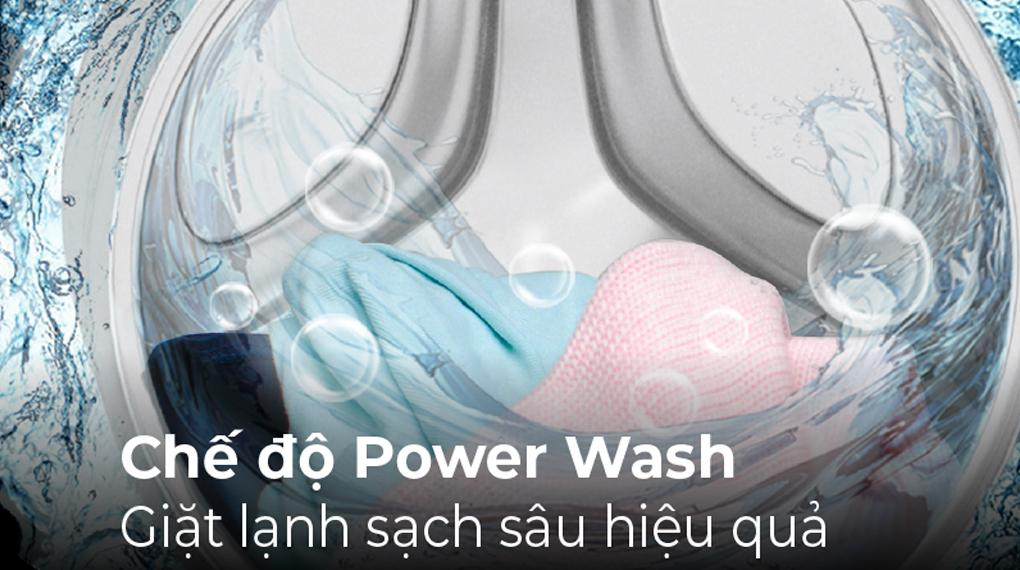 Đánh giá khả năng giặt sạch đồ của máy giặt Casper WF-105I150BGB