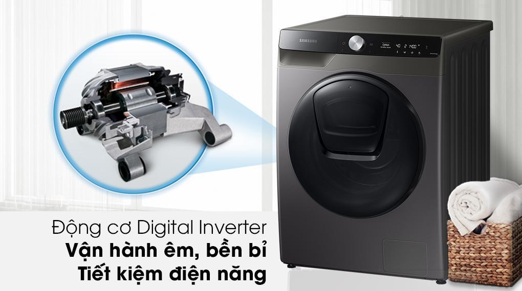 Máy giặt sấy Samsung vừa vận hành êm, không gây tiếng ồn vừa tiết kiệm điện hiệu quả