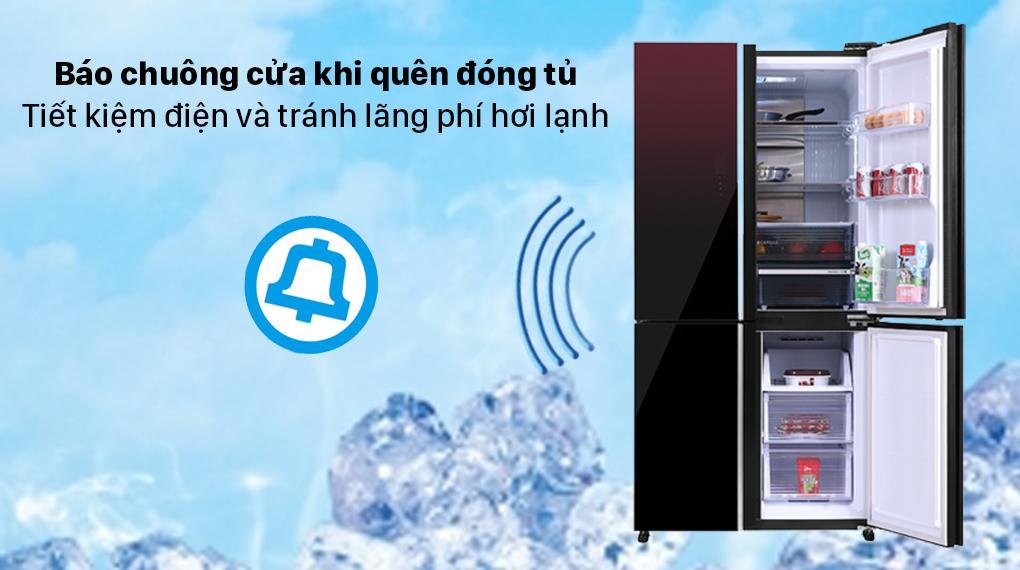 Báo chuông cửa và màn hình hiển thị bên ngoài tiện lợi khi dùng