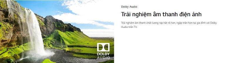 tivi LG 32LM575 trải nghiệm âm thanh điện ảnh