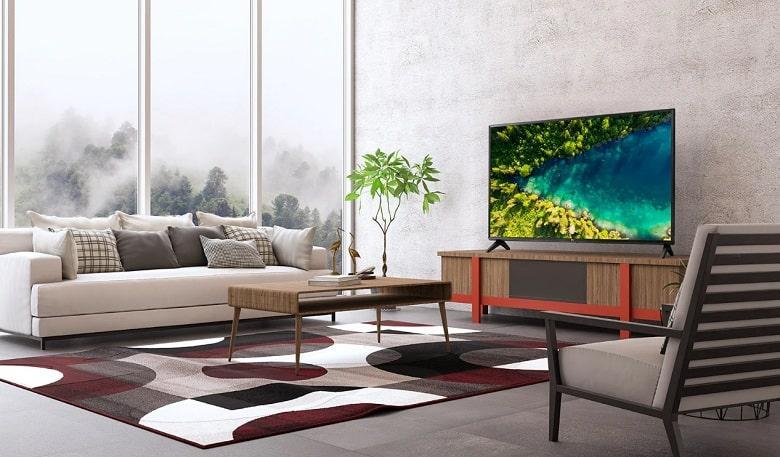 tivi LG 32LM575 thiết kế đơn giản, tinh tế