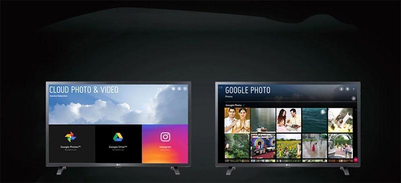 Tivi LG 32LM636 trình chiếu từ điện thoại lên tivi
