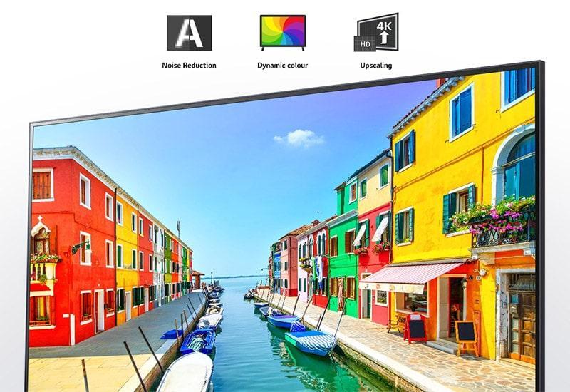 tivi LG 43UP7720 nâng cao chất lượng hình ảnh