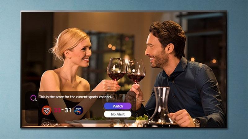 Tivi LG 50UP8100PTB không bỏ lỡ chương trình yêu thích