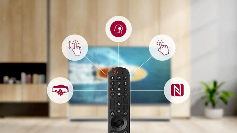 Tivi LG 55UP8100PTB điều khiển từ xa tối ưu