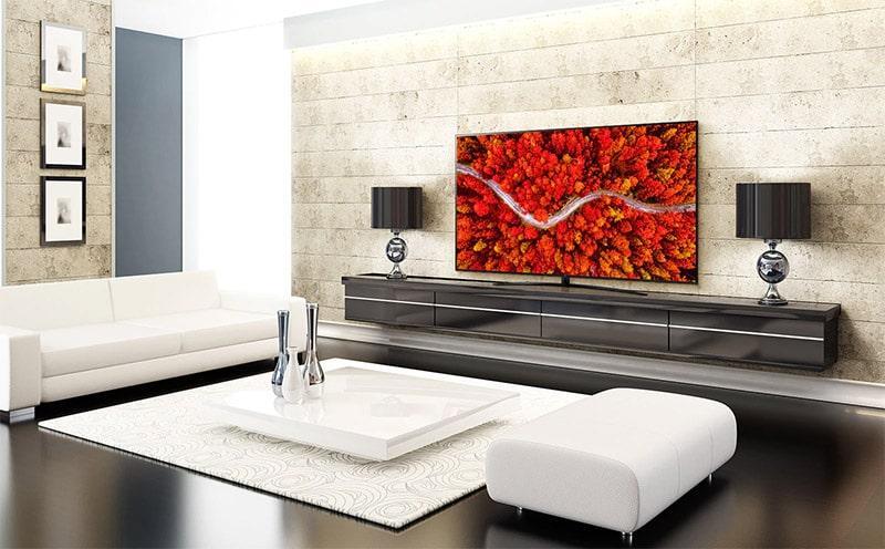 Tivi LG 65UP8100PTB thiết kế tinh tế cho ngôi nhà của bạn