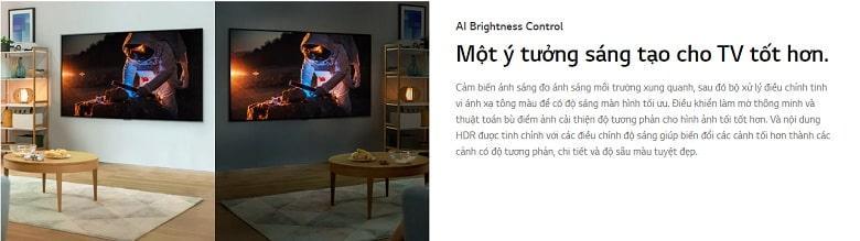 Tivi LG 65NANO80TPA một ý tưởng sáng tạo cho tivi tốt hơn