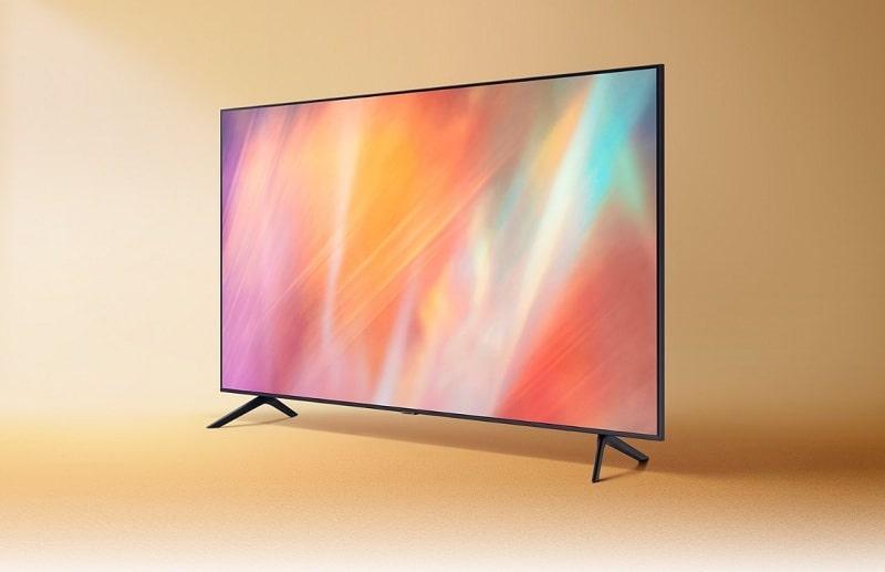 Tivi Samsung 55AU7700 thiết kế sống động, tinh tế