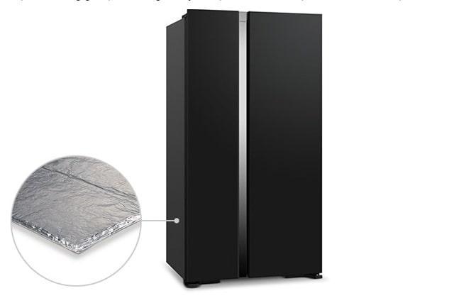 Tủ lạnh Hitachi R-S800PGV0 tiết kiệm điện năng vượt trội