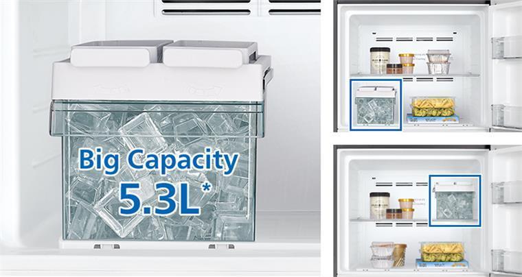 Tủ lạnh Hitachi FVX510PGV9 MIR khay đá xoay tiện lợi