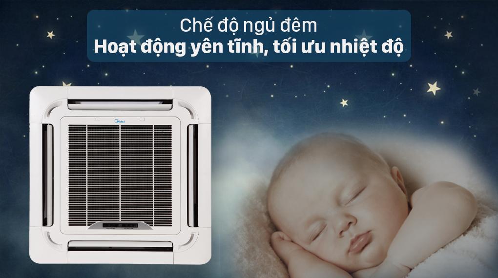 Sản phẩm trang bị chế độ ngủ đêmhoạt động yên tĩnh, tối ưu nhiệt độ