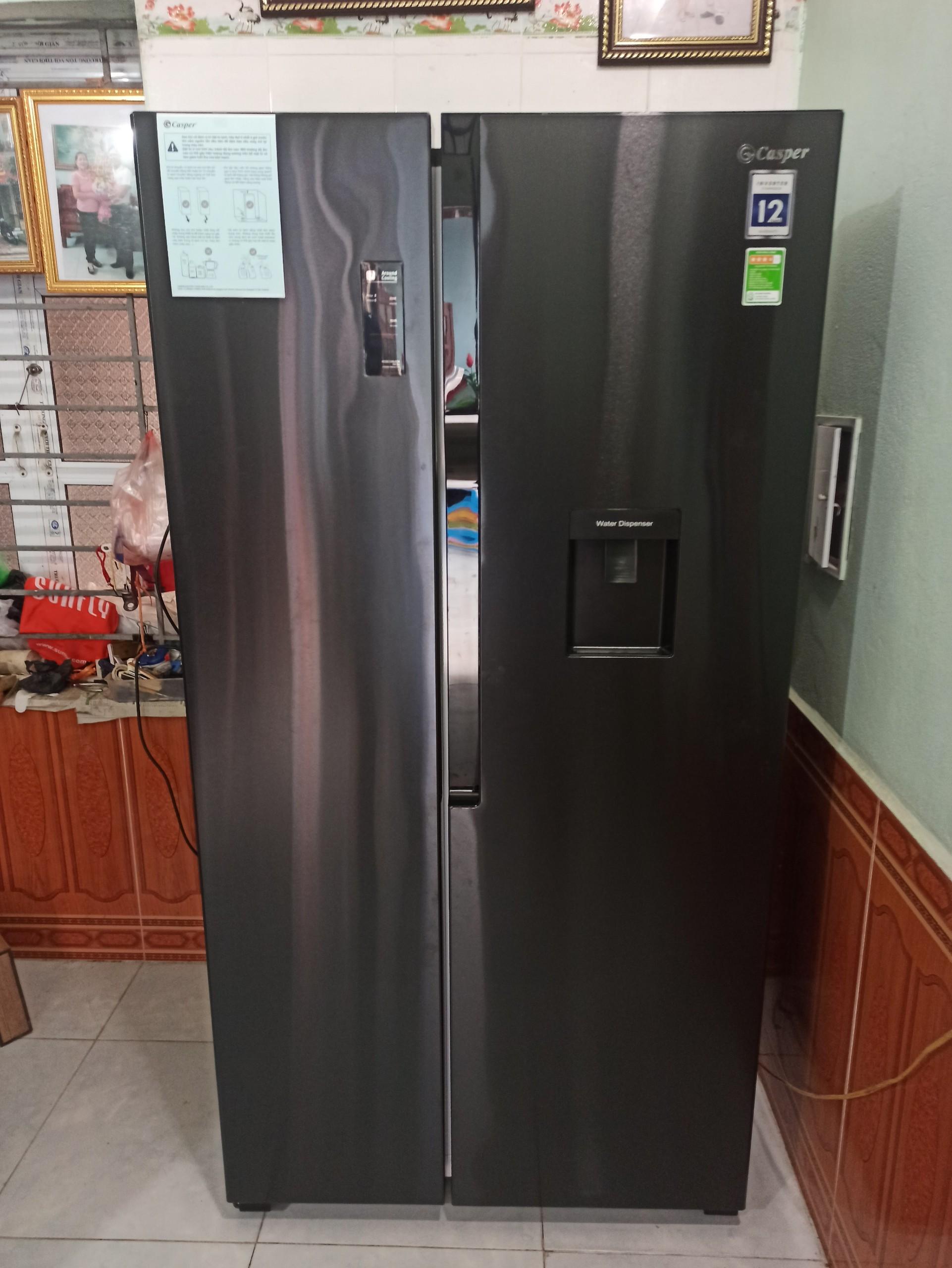 lắp đặt tủ lạnh casper