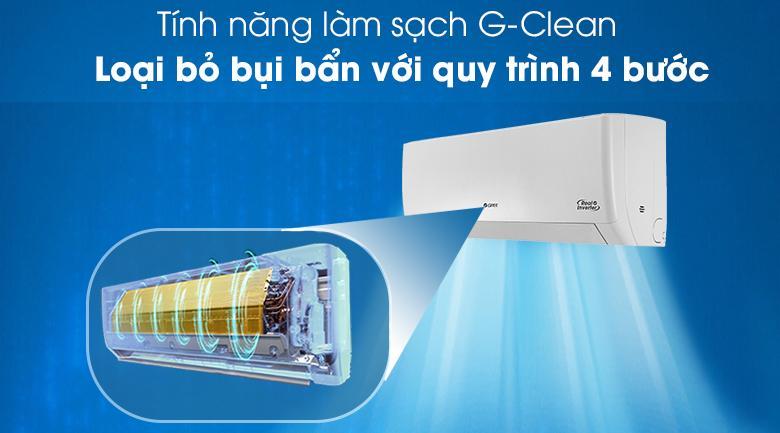 Sản phẩm sẽ tự động làm sạch dàn bay hơi với tính năng G-Clean mới