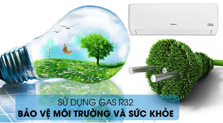 Sản phẩm giúp bảo vệ môi trường với Gas R32
