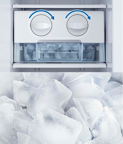 Tủ lạnh Hitachi R-M800PGV0 GBK khay đá xoay