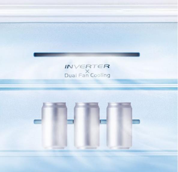 Tủ lạnh Hitachi R-WB640VGV0X MIR làm lạnh cực nhanh với chế độ Quick Cooling