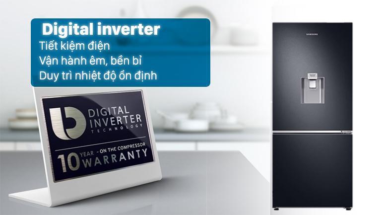 Tủ lạnh Samsung RB27N4190BU tiết kiệm điện, vận hành bền bỉ