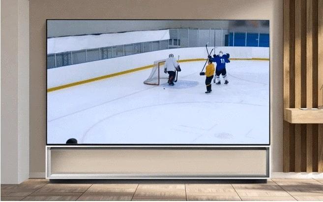 Tivi OLED LG 48A1PTA chế độ thể thao mượt mà hơn