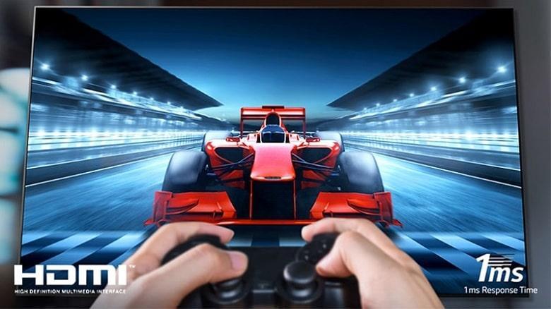 Tivi OLED LG 65B1PTA chơi game ở tiêu chuẩn cao nhất